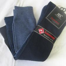 3 Par Hombre Calcetines con blando Cómodo cintura cómoda 3 Tono Azul 39a 46
