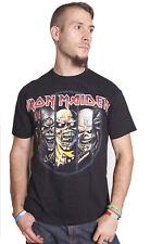 Iron Maiden Eddie Characters Rock Steve Harris Official Tee T-Shirt Mens Unisex