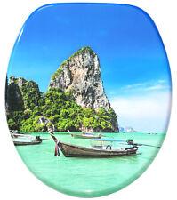 WC SITZ TOILETTENDECKEL KLODECKEL BRILLE KLOBRILLE MIT ABSENKAUTOMATIK THAILAND