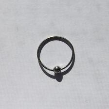 18g CBR Captive Bead Ring Body Piercing Stainless Steel
