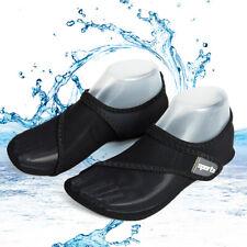 Men Women's Barefoot Water Shoes Beach Swim Adjustable Mesh Aqua Socks Quick-Dry
