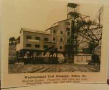 Old Yukon Pa. Westmoreland Coal Company Tipple Railroad & Mine Shaft Repo Poster