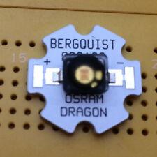 OSRAM Diamond Dragon 617nm Red-Orange 5W LED Emitter & Star Mounted 140°
