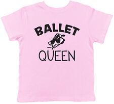 Ballet Queen Girls Childrens Kids Tee T-Shirt
