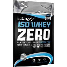 Biotech USA Iso Whey Zero 500/1000g Whey Protein FREE WORLD SHIPPING !!!