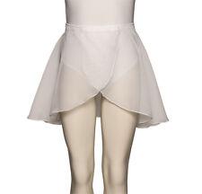 da ragazza Bianco Basic ballo e balletto Gonna tutte le taglie Katz Dancewear