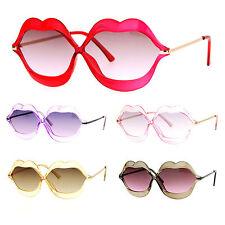 SA106 Love Lip Shape Kiss Womens Sunglasses