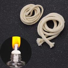 1M Round Cotton Wicks Burner For Alcohol Lamp Oil Kerosene Wine Bottle Torch