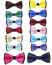 Boys Adjustable Pre-tied Children Bow Tie Neck Strap Kids Formal Bow Ties