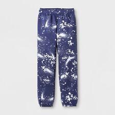 NEW Boys' Splatter Fleece SweatPants - Cat & Jack™ Blue