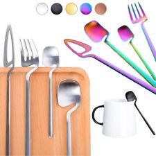 4pcs/Set Silverware Set Flatware Cutlery Sets Stainless Steel Knife Fork Spoon