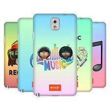 Officiel Emoji musique de coque arrière dur pour SAMSUNG Phone 2