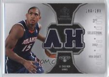 2007-08 SP Rookie Threads Photo Shoot Materials Silver #RT-AH Al Horford Card