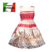 Tipo Vaiana Vestito Carnevale Bambina Cosplay Dress Simil Moana Costume DREVA04