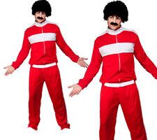 Scouser Tracksuit Mens 80s Shellsuit Fancy Dress Costume Sizes OS,PS