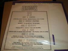Ultimix 21 - 3 x VINYL - Whitney Houston The Twist NRG