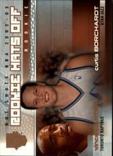 2002-03 (RAPTORS) Fleer Hot Shots Hot Hands #200 Curtis Borchardt/Vince Carter