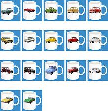 330ml bicchiere in ceramica con motivo: FIAT AUTO MODELLI tazza di caffè CAR parte 1 di 2