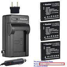 Kastar Battery Travel Charger for Panasonic DMW-BCK7E & Panasonic Lumix DMC-XS1
