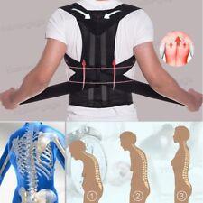 Lumbar Support Back Brace Posture Corrector Back Shoulder & Neck Pain Relief Men