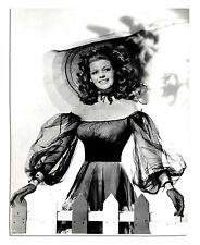 Rita Hayworth Columbia Pictures Photo -- Backstamped 6 April 1948 -- 7.5'' x 9.5