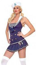 Shipmate Cutie Sailor Costume, Leg Avenue 83272, Adult 2 Piece, Size XS S/M M/L