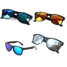 Unisex Kids Fashion Retro UV-400 Bright Lens Eyewear Sunglasses