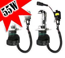 H4 55W Xenon HID Bombillas de descarga de gas Iluminación Lámpara Repuesto alto/bajo-par
