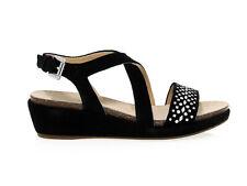 Sandalo basso Geox D62P6F N