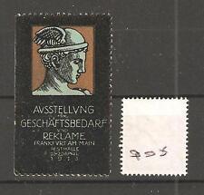 CINDERELLA -Q05- GERMANY - GESCHAFTSBEDARF UND REKLAME -FRANKFURT - 1913