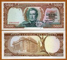 Uruguay, 5000 (5,000) Pesos, ND (1967), P-50 (50b), UNC