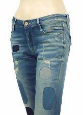 LE TEMPS DES CERISES jeans 7/8 modèle 316 Destroy femme JF316CPIWT349