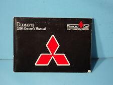 94 1994 Mitsubishi Diamante owners manual