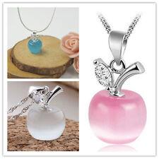 Fashion Jewelry 925 Sterling silver Zirconia CZ Women lovers Apple pendants Gift