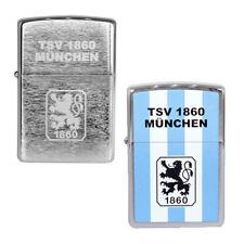 Zippo Feuerzeug TSV 1860 München, offizielle Lizenzartikel, ver. Farben
