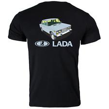 Lada Riva Unforgettable russian car voiture Classic Retro Printed T Shirt Thé