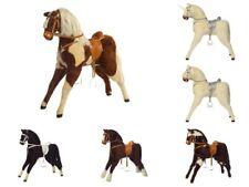 stehendes Pferd Kidsmax Spielpferd Plüschpferd zum Reiten 65cm Sitzhöhe