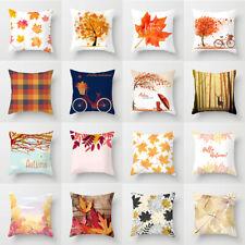 Autumn Fall pillows case throw cushion cover for sofa chair Bed Home Decorative