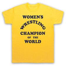 Women's Wrestling campeón del mundo divertida comedia Niños Camiseta Para Hombre Mujer