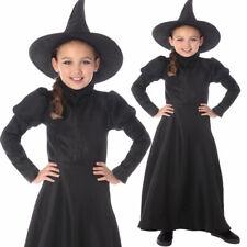 Klassische Hexe Kostüm Mädchen Wicked Outfit Welttag des Buches Alter 3