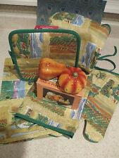 Susan Winget ~ Autumn Kitchen Set ~ Apron ~ Salt & Pepper