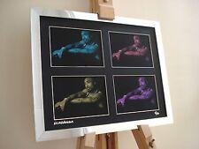 Tupac SHAKUR 2PAC LTD EDITION firmato pop art canvas