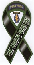 "4""-18"" GREEN BERETS army military Car Ribbon Vinyl Decal"
