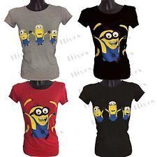 Womens Printed T-Shirt lot Ladies shirt S-L new christmas tshirt character