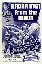 Radar Men From The Moon 1957 Movie Poster