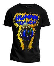 "T-Shirt ""HUMAN TOUCH"" Punk Hardcore Metal Pollution Welt Illustration NEU"