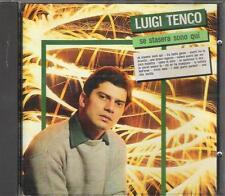 """LUIGI TENCO - RARO CD FUORI CATALOGO CDOR """" SE STASERA SONO QUI """""""