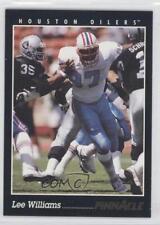 1993 Pinnacle #303 Lee Williams Houston Oilers Football Card