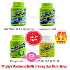 Wrigley's Doublemint Gum Base Bottle Chewing Gum Sweeteners Multi Flavor 58g