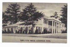 Town Lyne House, Lynnfield Mass Ma 1948 B & W Postcard